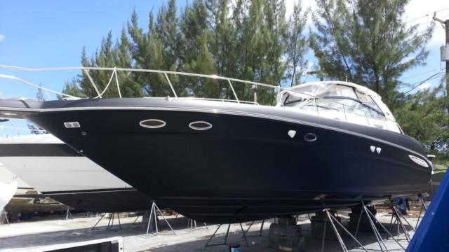 matte-black-boat-wrap-fort-lauderdale