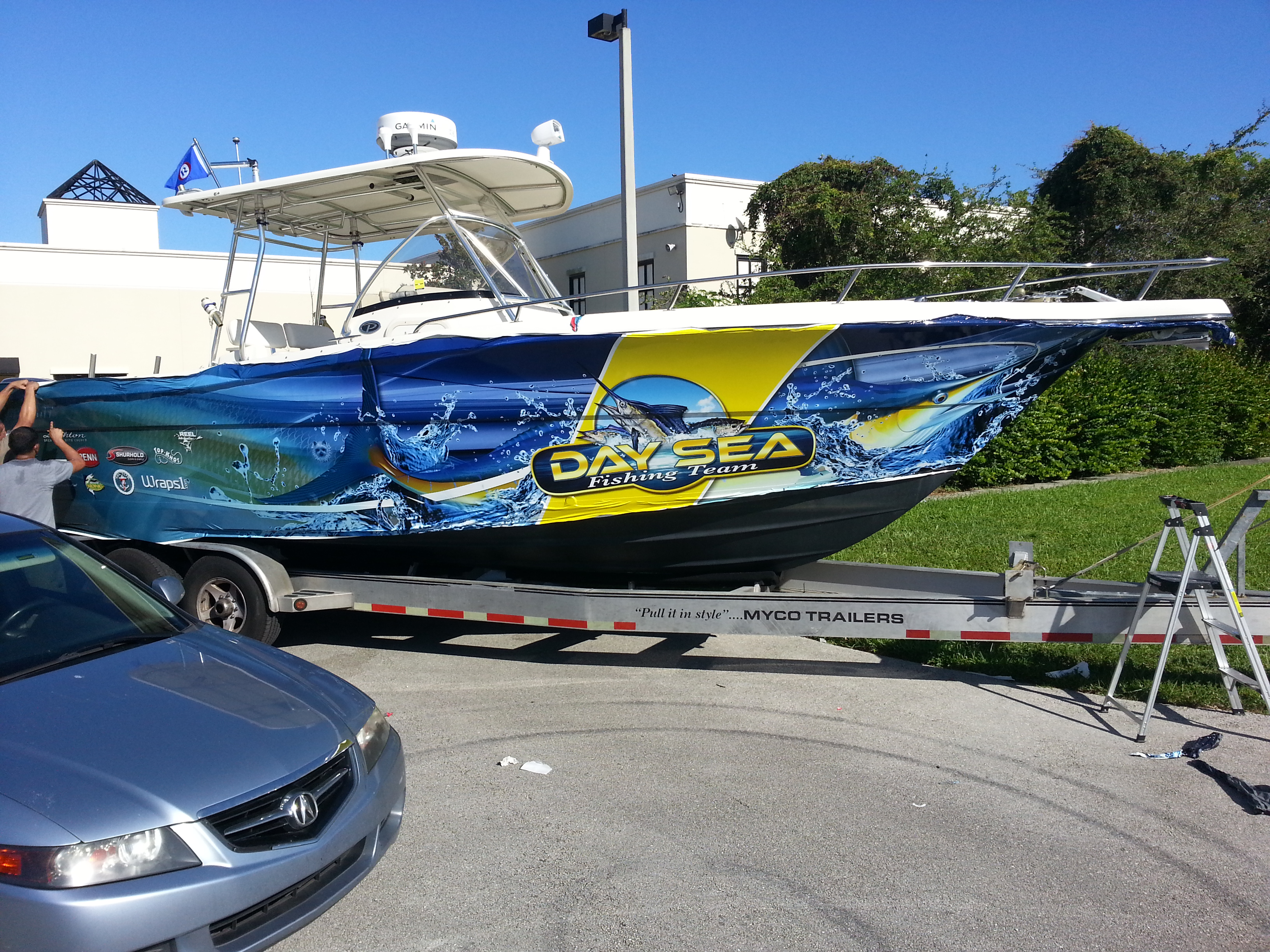 Commercial Fishing Boat Wraps