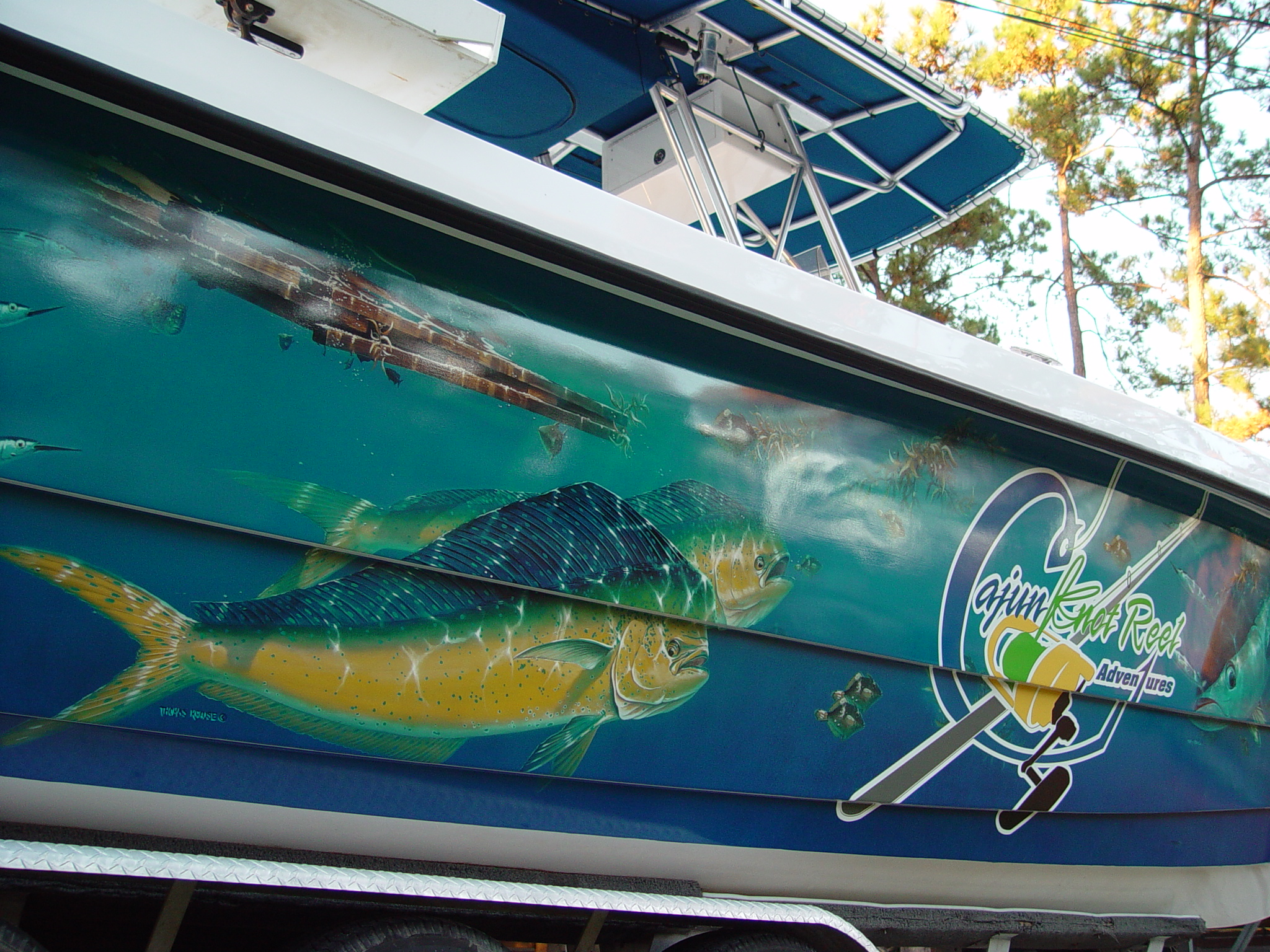 Boat Graphics - Marine Wraps