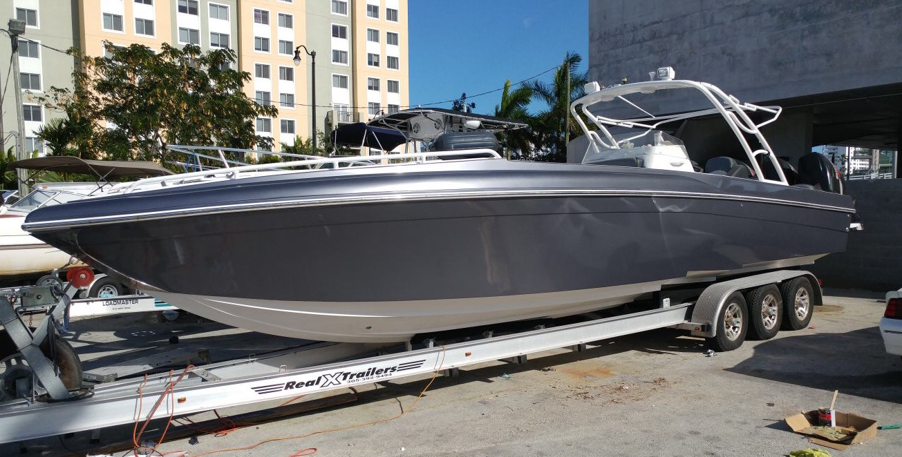Custom Boat Vinyl Wraps Florida